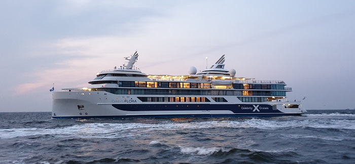 Celebrity Flora luxus yacht